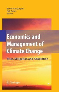 Economics and Management of Climate Change