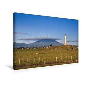 Premium Textil-Leinwand 45 cm x 30 cm quer Cape Egmont Lighthous