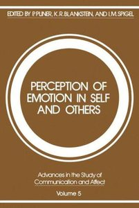 Perception of Emotion in Self and Others