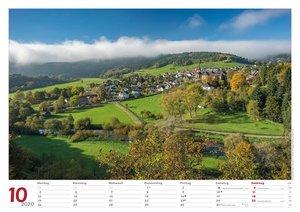 Westerwald Bildkalender A3 quer, spiralgebunden 2020