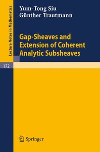 Gap-Sheaves and Extension of Coherent Analytic Subsheaves