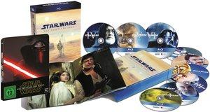 Star Wars Complete Saga 1-7 (Teil 7 als Steelbook-Edition)
