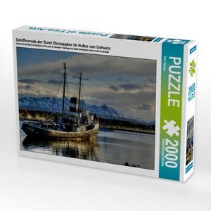 Schiffswrack der Saint Christopher im Hafen von Ushuaia 2000 Tei