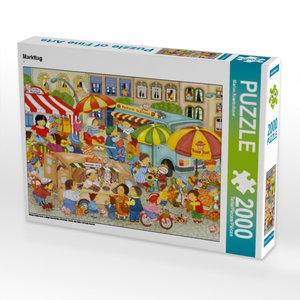 Markttag 2000 Teile Puzzle quer