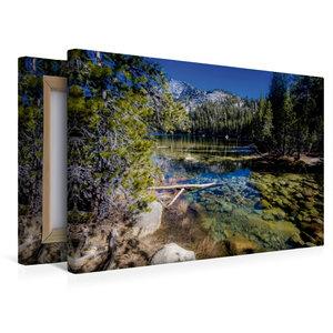 Premium Textil-Leinwand 45 cm x 30 cm quer Tenaya Lake, Yosemite