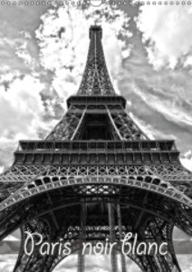 Paris noir blanc (Calendrier mural 2015 DIN A3 vertical)
