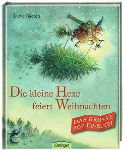 Die kleine Hexe feiert Weihnachten. Das große Pop-up-Buch