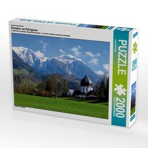 CALVENDO Puzzle Wandern am Königssee 2000 Teile Lege-Größe 90 x