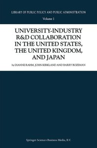 University-Industry R&D Collaboration in the United States, the
