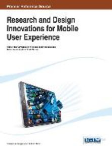 Research and Design Innovations for Mobile User Experience