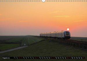 Norddeutsche Eisenbahnen (Wandkalender 2019 DIN A3 quer)