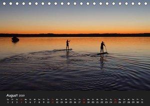 Starnberger See - Silent Moments (Tischkalender 2019 DIN A5 quer