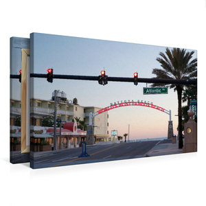 Premium Textil-Leinwand 75 cm x 50 cm quer Daytona Beach