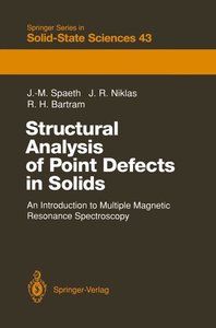 Structural Analysis of Point Defects in Solids