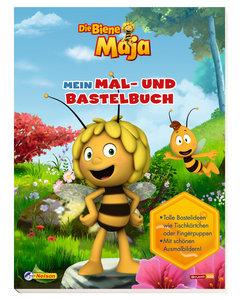 Die Biene Maja: Mein Mal- und Bastelbuch