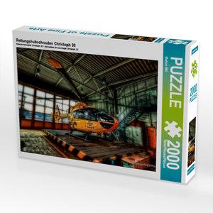 Rettungshubschrauber Christoph 30 2000 Teile Puzzle quer