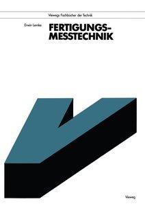 Lemke, E: Fertigungsmeßtechnik