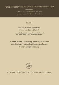 Mathematische Behandlung einer angenäherten quasilinearen Potent