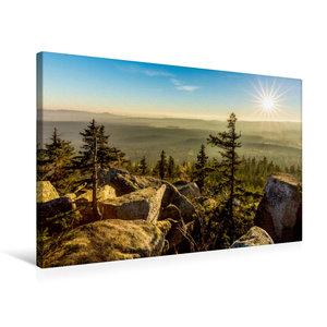 Premium Textil-Leinwand 75 cm x 50 cm quer Herbststimmung auf de