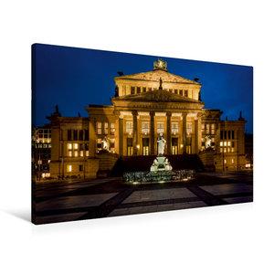 Premium Textil-Leinwand 90 cm x 60 cm quer Konzerthaus