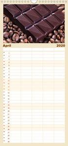 Kaffee & Schokolade - Familienplaner hoch (Wandkalender 2020 , 2