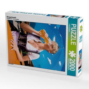 Biergartenzeit 2000 Teile Puzzle hoch