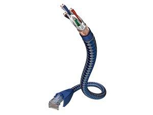CAT6 Netzwerkkabel Premium 1,0m / Blau-Silber