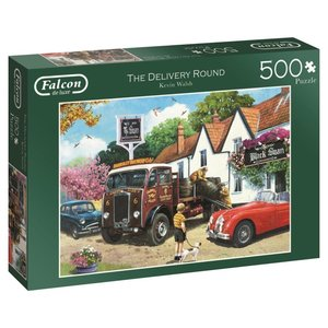 The Delivery Round - 500 Teile Puzzle
