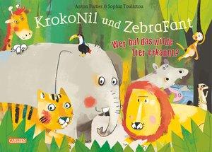 KrokoNil und ZebraFant Wer hat das wilde Tier erkannt?