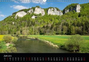 Das Donautal - Wanderparadies auf der Schw?bischen Alb (Wandkale