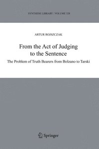 From the Act of Judging to the Sentence