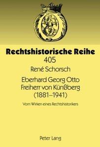 Eberhard Georg Otto Freiherr von Künßberg (1881-1941)