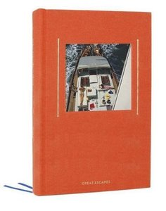 Great Escapes (Hardcover Journal: Coral Red)