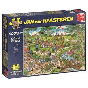Jumbo 19070 - Jan v. Haasteren, The Park, Comic Puzzle, Puzzle,