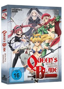 Queen's Blade OVAs (OmU) - DVD-Box (2 DVDs)