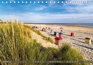 BORKUM Trauminsel in der Nordsee (Tischkalender 2018 DIN A5 quer