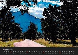Fernsicht - Impressionen aus den Alpen (Wandkalender 2019 DIN A3