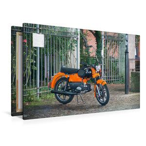 Premium Textil-Leinwand 120 cm x 80 cm quer Kreidler Florett GT