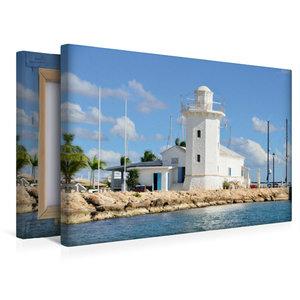 Premium Textil-Leinwand 45 cm x 30 cm quer Casa de Campo Marina,