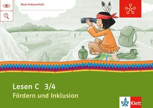Mein Indianerheft. Fördern und Inklusion C. Lesen. Arbeitsheft 3
