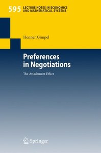Preferences in Negotiations