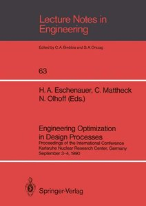 Engineering Optimization in Design Processes