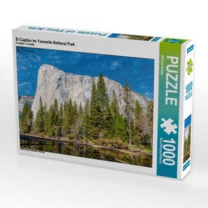 El Capitan im Yosemite National Park 1000 Teile Puzzle quer