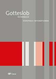 Intonationen zum Gotteslob. Eigenteil Österreich