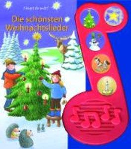 Die schönsten Weihnachtslieder. 5-Button-Soundbuch