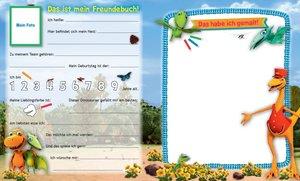 Dino-Zug Kindergartenfreundebuch
