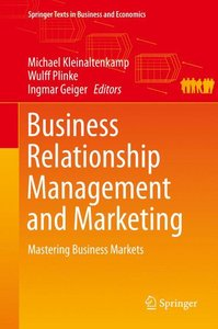 Business Relationship Management and Marketing