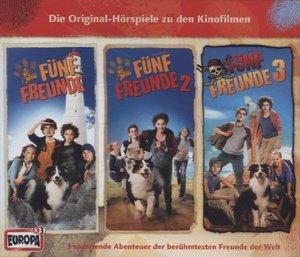 Fünf Freunde Filmhörspiele 1-3