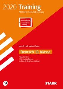 Training Mittlerer Schulabschluss 2020 - Nordrhein-Westfalen - D