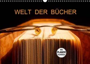 Welt der Bücher (Wandkalender 2019 DIN A3 quer)